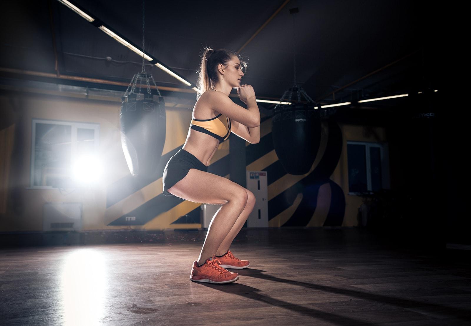 squat egzersizi ve sumo squat