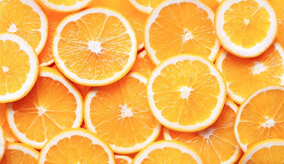 portakal lifli besin